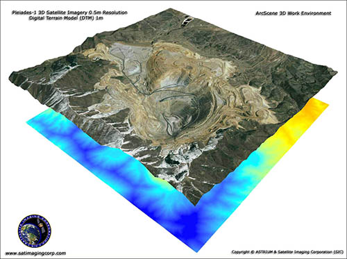 Pleiades-1A - ArcScene 3D Work Environment