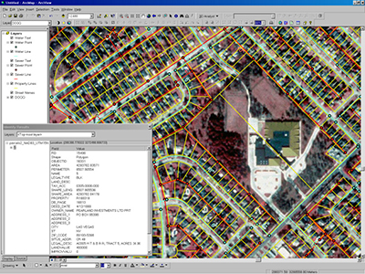 GIS Mapping Project - Tax Mapping
