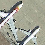 WorldView-3 Satellite Image Airport Madrid Spain