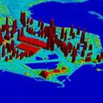 Doha, Qatar - 2m 3D Urban Terrain Model