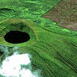 Visoke Volcano, DRC and Rwanda, Africa