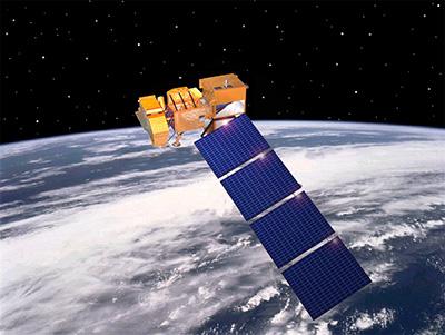LANDSAT 7 ETM+ Satellite Sensor