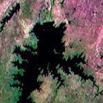 Piranhas River, South America