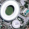WorldView-3 Satellite Image of Maracanã Stadium, Rio De Janeiro, Brazil