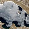 Satellite Image Puma Yumco Lake Tibet